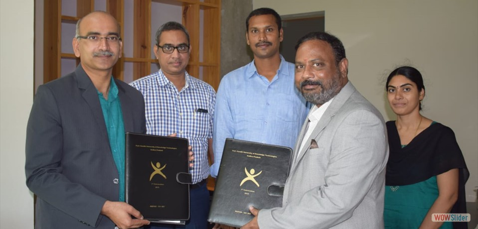 RGUKTN inks MoU with IITH